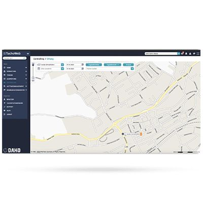 TachoWeb OBD vehicle tracking